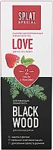 Parfumuri și produse cosmetice Set - Splat Special Love & Blackwood (toothp/2x75ml)