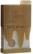 Parfumuri și produse cosmetice Set pentru pedichiură - Voesh Deluxe Golden Glimmer Pedi In A Box 5 in 1