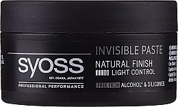 Parfumuri și produse cosmetice Pastă de păr - Syoss Invisible Paste Light Control