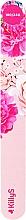 Parfumuri și produse cosmetice Pilă de unghii, carton, roz - KillyS Blooming Pastel Paper