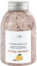 """Parfumuri și produse cosmetice Sare de baie """"Portocală și Scorțișoară"""" - Kanu Nature Orange Cinnamon Mineral Bath Salt"""