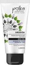 """Parfumuri și produse cosmetice Mască de păr """"Mesteacan"""" - Polka Birch Tree Mask"""