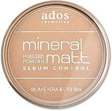 Parfumuri și produse cosmetice Pudră de față - Ados MINERAL MATT