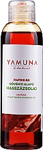 "Parfumuri și produse cosmetice Ulei pentru masaj ""Paprika"" - Yamuna Paprika Plant Based Massage Oil"