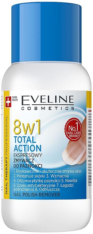 Dizolvant pentru ojă 8 în 1 - Eveline Cosmetics Nail Therapy Professional