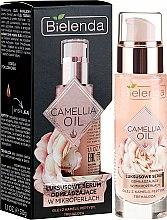 Parfumuri și produse cosmetice Ser pentru față - Bielenda Camellia Oil Luxurious Rejuvenating Serum