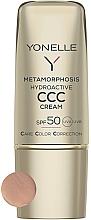 Parfumuri și produse cosmetice Cremă matifiantă pentru față SPF50 - Yonelle Metamorphosis Hydroactive CCC Cream SPF50