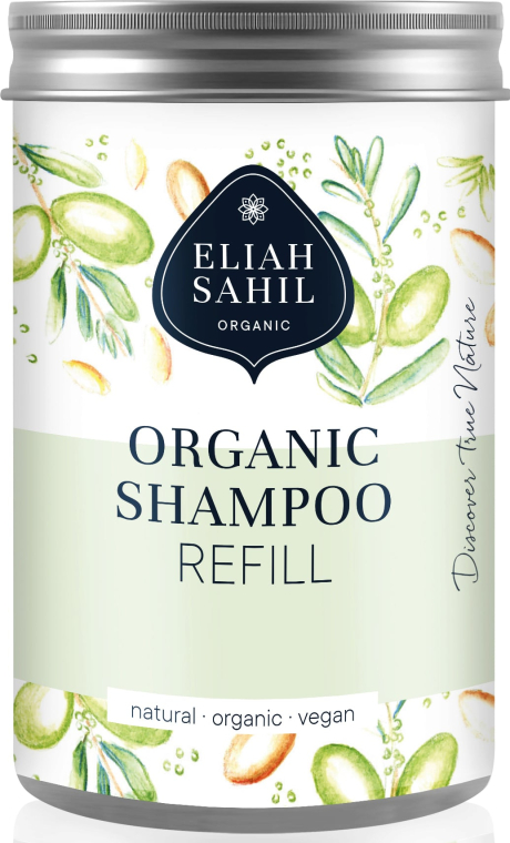 Recipient pentru șampon - Eliah Sahil Organic Shampoo Refill — Imagine N1