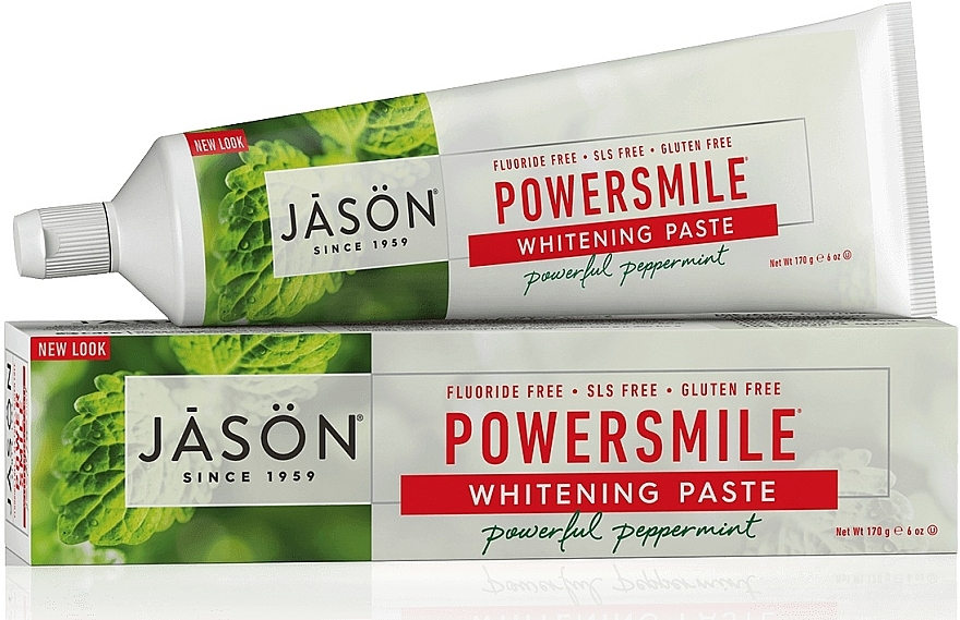Pasta de dinți pentru albire - Jason Natural Cosmetics PowerSmile All Natural Whitening Toothpaste