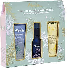 Parfumuri și produse cosmetice Set - Melvita (sh/gel/30ml + water/28ml + gei/oil/30ml)