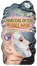 "Parfumuri și produse cosmetice Bubble Mask ""Cărbune"" - 7th Heaven Charcoal Detox Bubble Mask"
