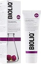 Parfumuri și produse cosmetice Cremă pentru nivelare și fermitate de noapte - Bioliq 45+ Firming And Smoothing Night Cream