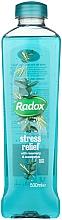"Parfumuri și produse cosmetice Spumă de baie ""Rozmarin și Eucalipt"" - Radox Herbal Bath Stress Relief"