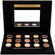 Parfumuri și produse cosmetice Paletă de farduri de ochi - Cosmetic 2K Polygon Eyeshadow Palette