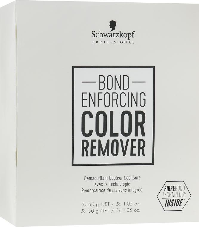 Remediu pentru îndepărtarea pigmentului artificial de pe păr - Schwarzkopf Professional Bond Enforcing Color Remover