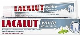 """Parfumuri și produse cosmetice Pastă de dinți """"Mentă"""" - Lacalut White Alpenminze Toothpaste"""