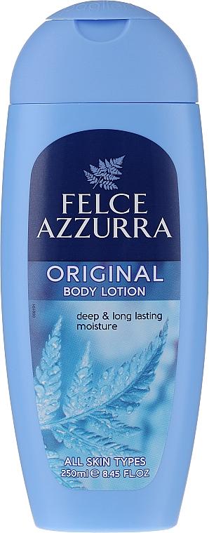 "Loțiune de corp ""Clasic"" - Felce Azzurra Classic Body Lotion With Vitamin E & Almond — Imagine N1"