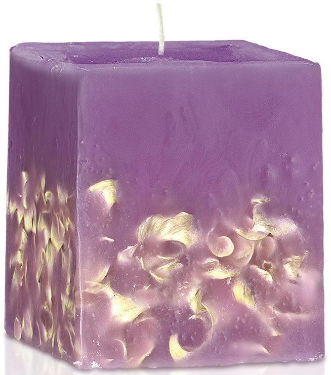 "Lumânare parfumată ""Liliac"" - Bulgarian Rose Perfume Fragrant Wax Candle Lilac — Imagine N1"
