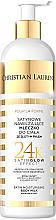 Parfumuri și produse cosmetice Lăptișor hidratant cu particule de aur pentru corp - Christian Laurent Pour La Beaute