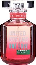 Parfumuri și produse cosmetice Benetton United Dreams One Love - Apă de toaletă
