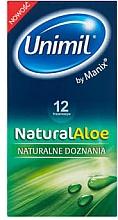 Parfumuri și produse cosmetice Prezervative, 12 buc. - Unimil Natural Aloe