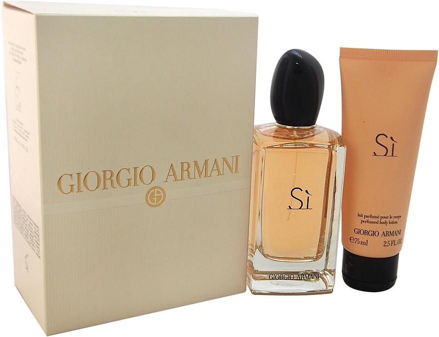 Giorgio Armani Si - Set (edp/100ml+b/l/75ml) — Imagine N2