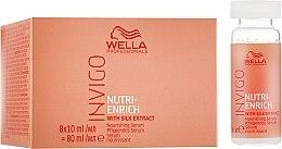 Parfumuri și produse cosmetice Ser-tratament nutritiv - Wella Professionals Invigo Nutri-Enrich Nourishing Serum