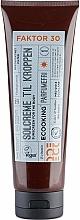 Parfumuri și produse cosmetice Cremă de protecție solară pentru corp - Ecooking Sunscreen For The Body SPF 30