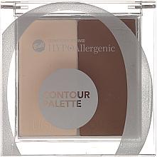 Parfumuri și produse cosmetice Paleta pentru contur facial - Bell HypoAllergenic Contour Palette