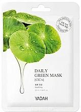 """Parfumuri și produse cosmetice Mască de față """"Centella asiatica"""" - Yadah Daily Green Mask Cica"""