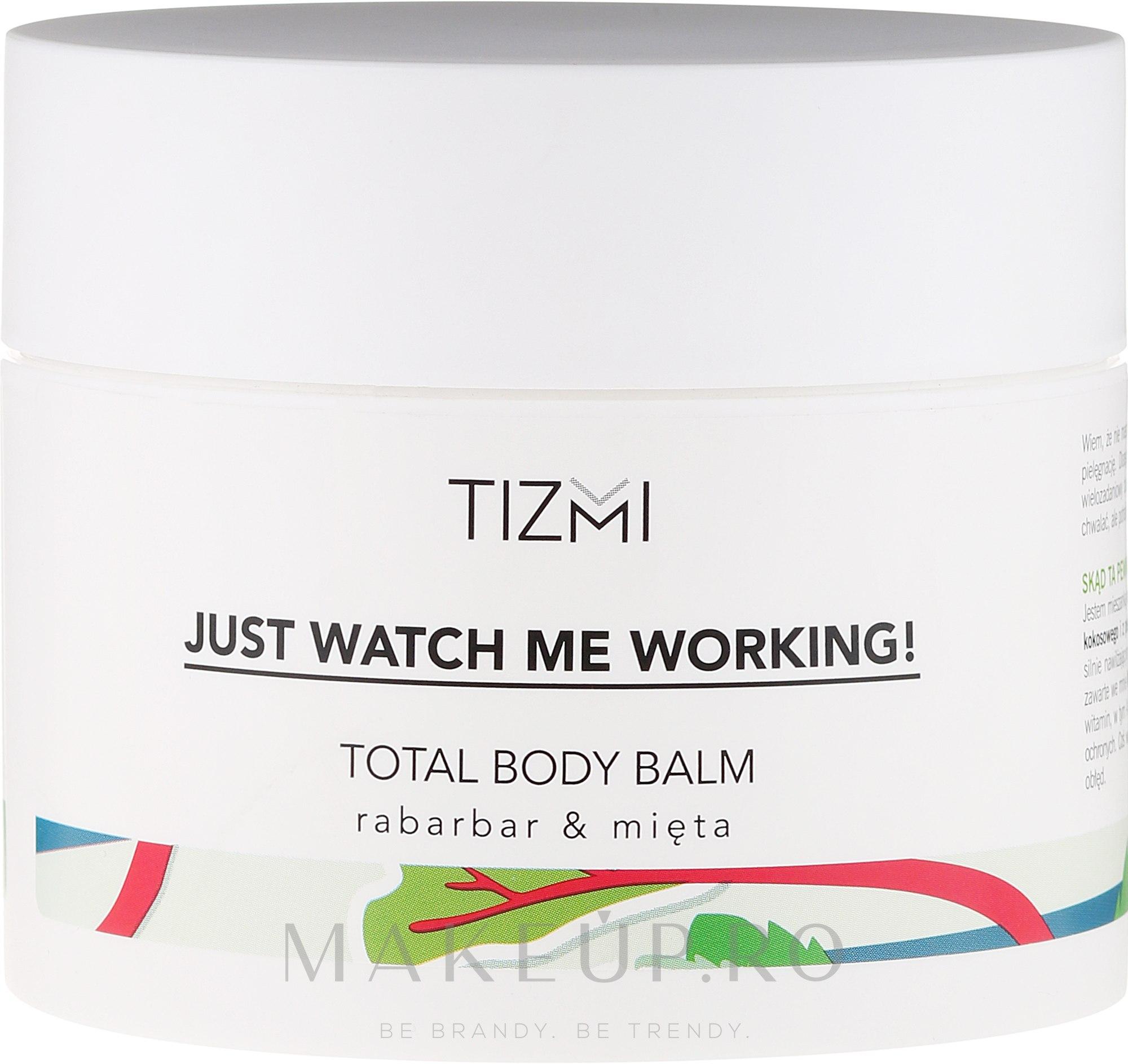 Balsam de corp - Tizmi Total Body Balm Rhubarb & Mint — Imagine 200 ml