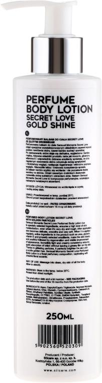 Loțiune parfumată pentru corp - Silcare Sensual Moments Perfume Body Lotion Gold Shine — Imagine N2