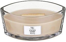 Parfumuri și produse cosmetice Lumânare aromată în suport de sticlă - WoodWick At The Beach Hearthwick Ellipse Candle