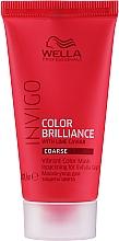 Parfumuri și produse cosmetice Mască pentru păr vopsit - Wella Professionals Invigo Color Brilliance Vibrant Color Mask Coarse