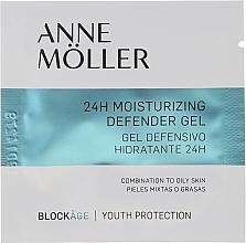 Parfumuri și produse cosmetice Gel hidratant pentru față - Anne Moller Blockage 24h Moisturizing Defender Gel (mostră)