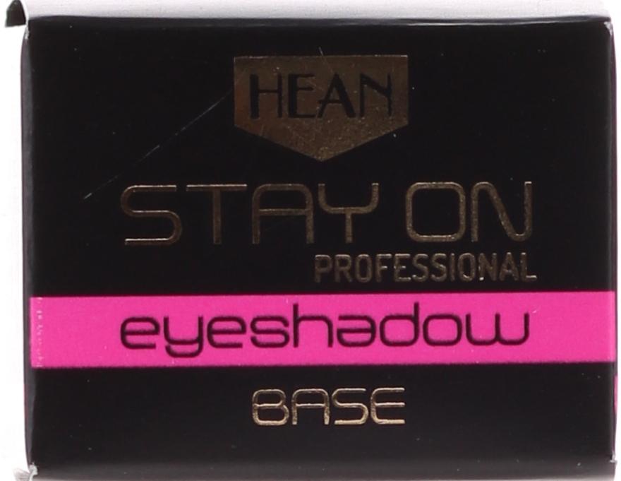 Bază pentru fard de pleoape - Hean Stay-On Professional Eyeshadow Base — Imagine N2