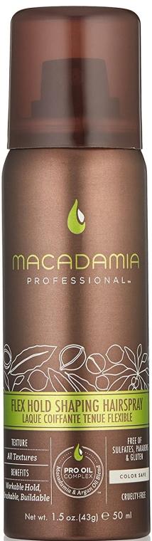 Lac de păr - Macadamia Professional Flex Hold Shaping Hairspray — Imagine N1