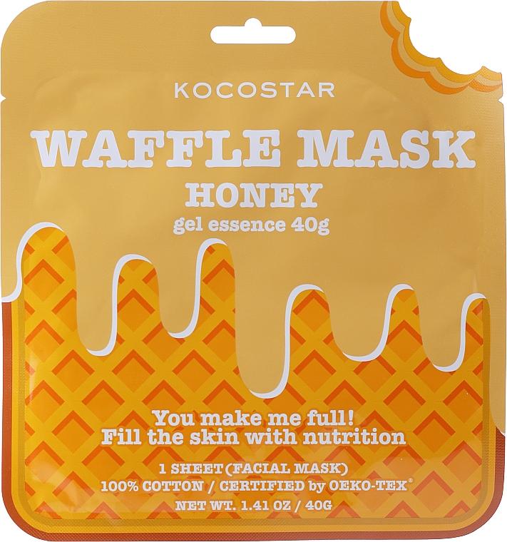 "Mască nutritivă ""Plăcere cu miere"" - Kocostar Honey Waffle Mask"