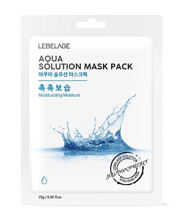 Mască din țesătură pentru față - Lebelage Aqua Solution Mask