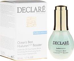 Parfumuri și produse cosmetice Ser cu acid hialuronic pentru față - Declare Hydro Balance Ocean's Best Hyaluron Booster