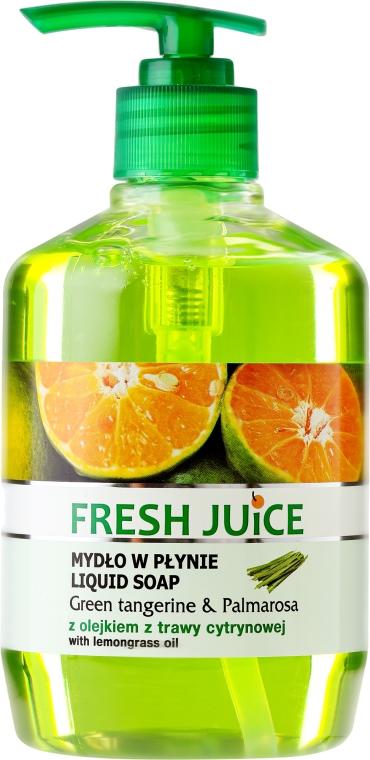 Săpun-Gel pentru corp - Fresh Juice Green Tangerine & Palmarosa