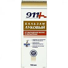 Parfumuri și produse cosmetice Balsam cu ceapă împotriva căderea părului și a cheliei - 911