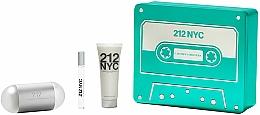 Parfumuri și produse cosmetice Carolina Herrera 212 NYC - Set (edt/100ml + edt/10ml + b/lot/75ml)