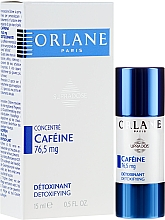 Parfumuri și produse cosmetice Ser facial cu cofeină - Orlane Supradose Concentrate Caffeine Detoxifying