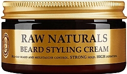 Parfumuri și produse cosmetice Cremă pentru barbă - Recipe For Men RAW Naturals Beard Styling Cream
