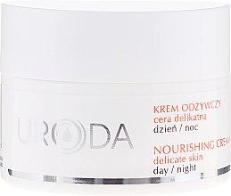 Parfumuri și produse cosmetice Cremă nutritivă pentru ten sensibil - Uroda Nourishing Face Cream For Sensitive Skin