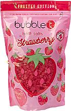 """Parfumuri și produse cosmetice Sare de baie """"Căpșună"""" - Bubble T Cosmetics Strawberry Bath Salt"""