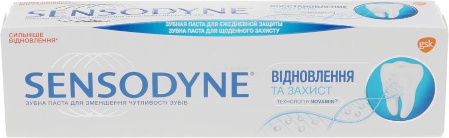 Pastă de dinți, regenerare și protecție - Sensodyne Repair&Protect — Imagine N1