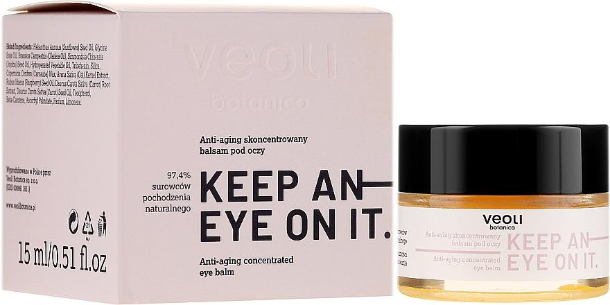 Balsam concentrat anti-îmbătrânire sub ochi - Veoli Botanica Anti-aging Concentrated Eye Balm Keep An Eye On It — Imagine N1