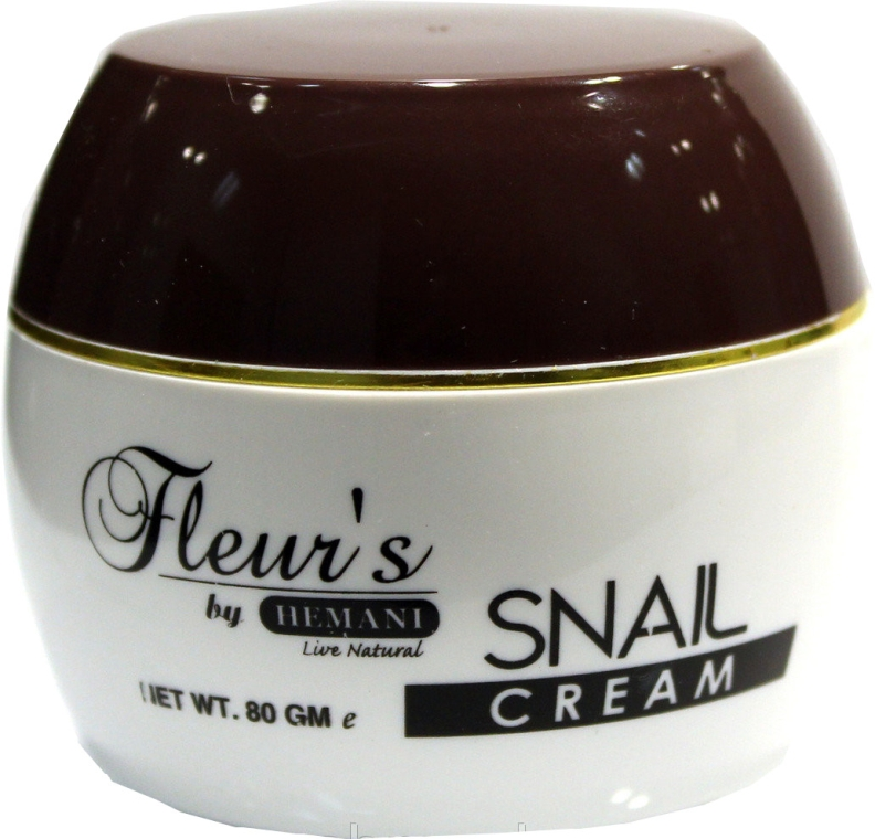 Set - Hemani Fleurs Snail Cosmetic Set (f/cr/80ml + soap/30ml) — Imagine N3